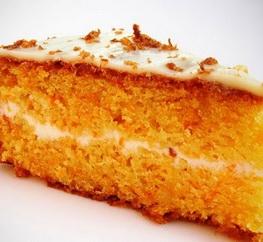 Бисквит без яиц морковно-лимонный